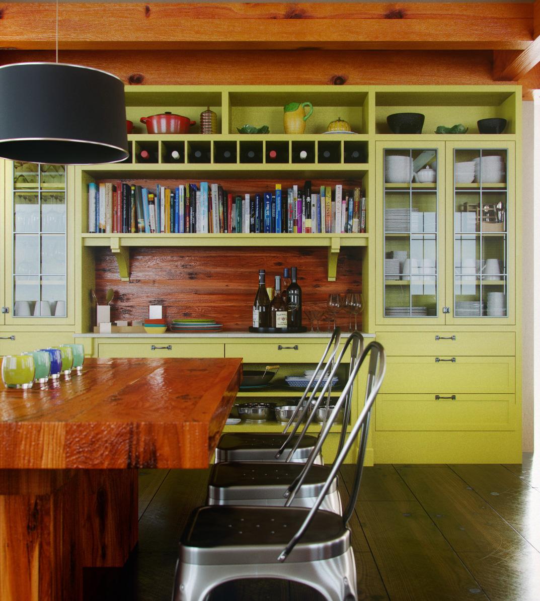 Modern kitchen interior design evermotion competition 2011 cg projects 3d archviz - Kitchen design competition ...
