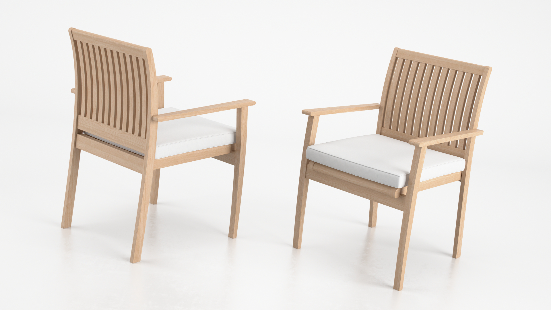 stirling stacking armchair cg projects 3d archviz animation