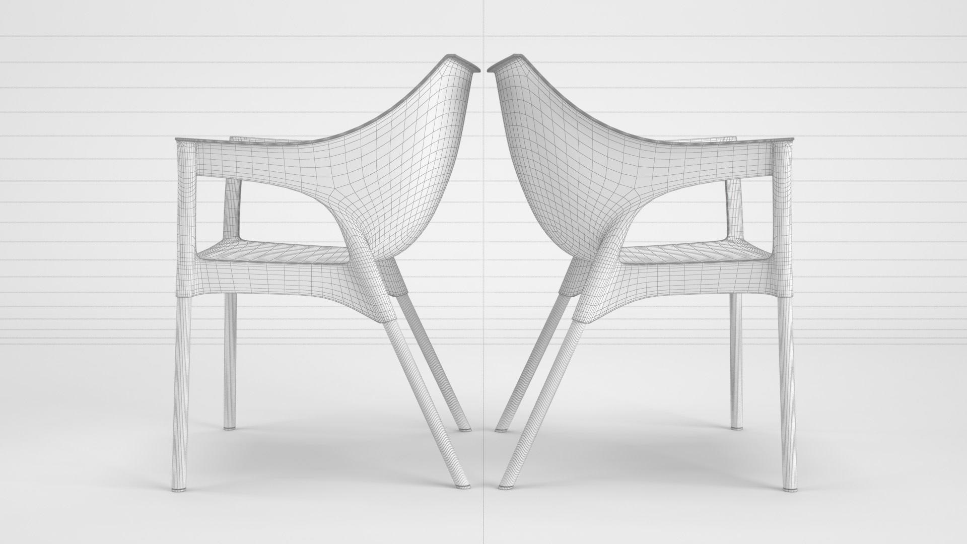 Pole_Chair_WhiteSet_01_wire_0002