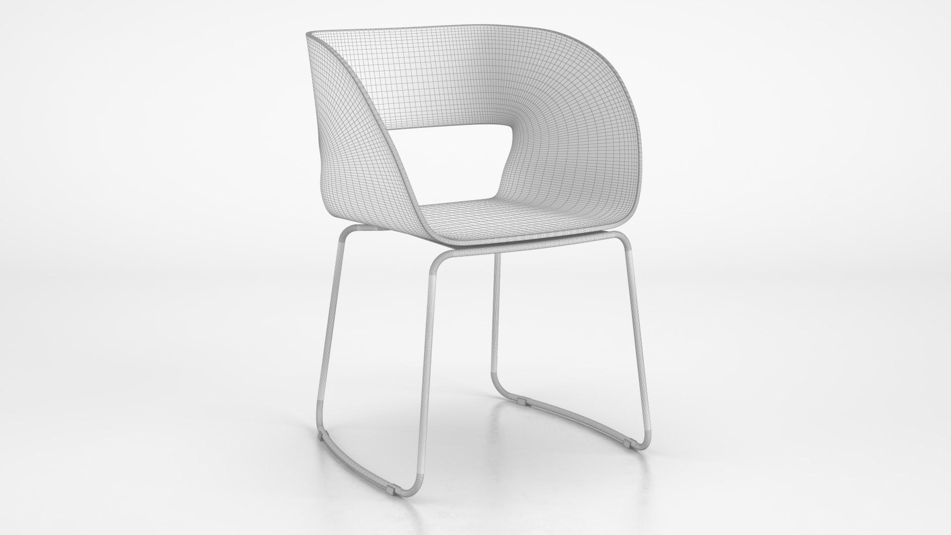 Vintage_Chair_SledLegs_WhiteSet_01_wire_0000